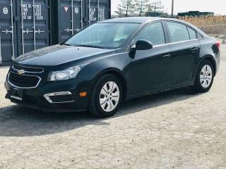 Used 2016 Chevrolet Cruze LT|Back up Camera|Bluetooth|Cruise| for sale in Bolton, ON