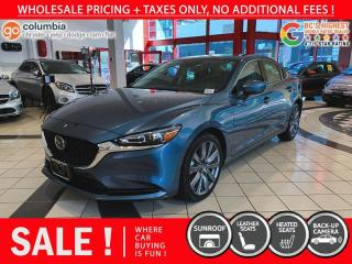 Used 2020 Mazda MAZDA6 GS-L - Accident Free / Local / Sunroof / No Dealer Fees for sale in Richmond, BC