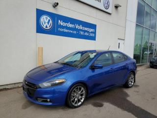 Used 2014 Dodge Dart SXT RALLYE AUTO - PWR PKG / ALLOYS / BLUETOOTH / LOW KMS for sale in Edmonton, AB