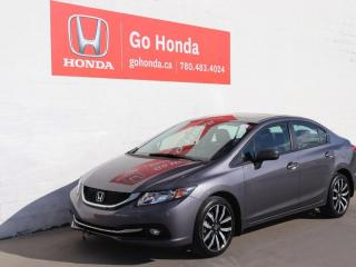Used 2015 Honda Civic Sedan Touring, LEATHER, SUNROOF, NAVIGATION for sale in Edmonton, AB