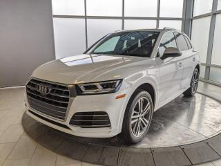 Used 2018 Audi Q5 Technik | S-Line | B&O | 360 Cameras | No Accidents for sale in Edmonton, AB