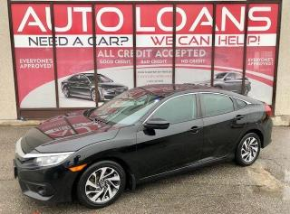 Used 2017 Honda Civic EX-ALL CREDIT ACCEPTED for sale in Toronto, ON