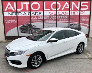 Used 2016 Honda Civic LX-ALL CREDIT ACCEPTED for sale in Toronto, ON