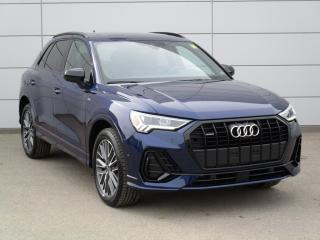 New 2021 Audi Q3 45 Technik S Line Black, NAV, B&O Sound for sale in Regina, SK