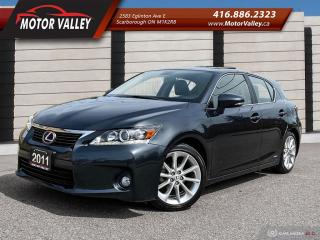 Used 2011 Lexus CT 200h Hybrid Only 072,084KM  Loaded! for sale in Scarborough, ON