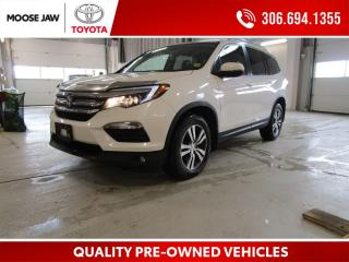 Used 2016 Honda Pilot EX-L Navi *LEATHER*REMOTE*HEATED SEATS* for sale in Moose Jaw, SK