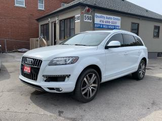 Used 2012 Audi Q7 3.0T Premium Plus for sale in Scarborough, ON