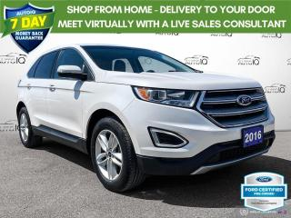 Used 2016 Ford Edge SEL AWD Leather/Remote Start/Heated Seats for sale in St Thomas, ON