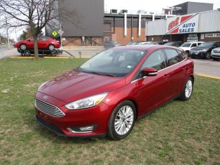 Used 2016 Ford Focus Titanium ~ LEATHER ~ NAV. ~ WINTER TIRES ON RIMS for sale in Toronto, ON
