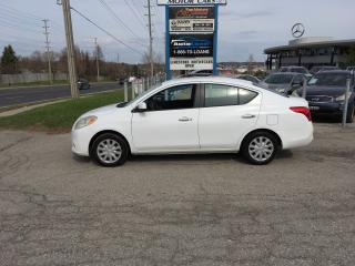 Used 2012 Nissan Versa Sedan S for sale in Newmarket, ON