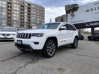 Used 2018 Jeep Grand Cherokee Limited for sale in North York, ON
