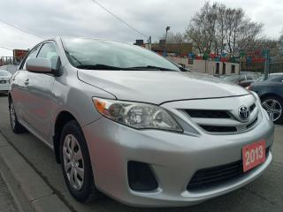 Used 2013 Toyota Corolla EXTRA CLEAN-REMOTE STARTER-AUX-USB-AMAZING ON GAS for sale in Scarborough, ON