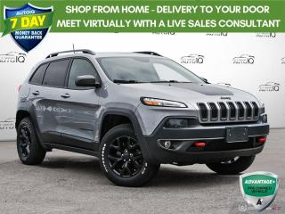 Used 2016 Jeep Cherokee Trailhawk | Leather | Navigation | 4wd for sale in Oakville, ON