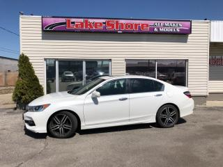 Used 2017 Honda Accord Sport LEATHER for sale in Tilbury, ON
