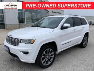 Used 2018 Jeep Grand Cherokee OVERLAND 4X4 for sale in Chatham, ON