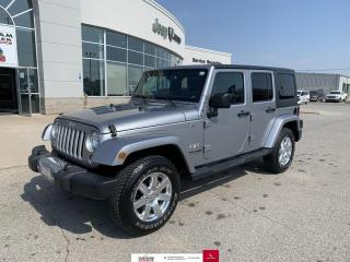 Used 2018 Jeep Wrangler JK Unlimited Sahara 4x4 for sale in Chatham, ON