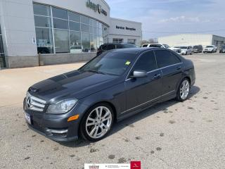 Used 2013 Mercedes-Benz C-Class 4MATIC® for sale in Chatham, ON