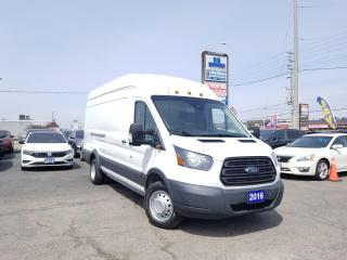 Used 2016 Ford Transit 350 No Accident|T-350|Hi Roof| Sliding RH Dr|Certified for sale in Brampton, ON