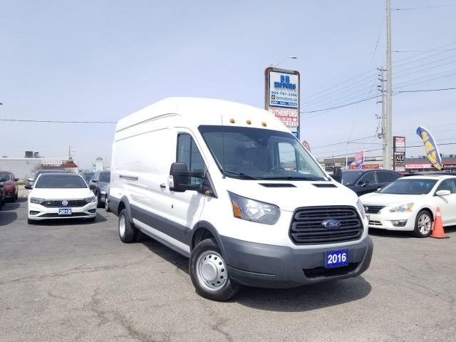 2016 Ford Transit 350 No Accident|T-350|Hi Roof| Sliding RH Dr|Certified
