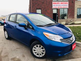 Used 2016 Nissan Versa Note SV - B.UP CAM, B.T., WINTER & SUMMER TIRES! for sale in Rexdale, ON