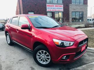 Used 2011 Mitsubishi RVR SE - Heated Seats, Bluetooth, 2.0L, 4x4 for sale in Rexdale, ON