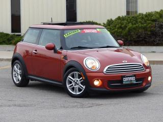 Used 2012 MINI Cooper Coupe HARDTOP,LEATHER,LOADED,CERTIFIED,NO-ACCIDENT for sale in Mississauga, ON