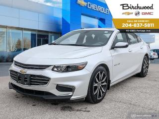 Used 2017 Chevrolet Malibu LT Leather | Sunroof | Navigation for sale in Winnipeg, MB