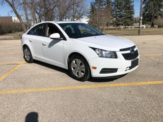 Used 2014 Chevrolet Cruze 1LT All Weather Tires! Sunroof! Remote Start for sale in Winnipeg, MB