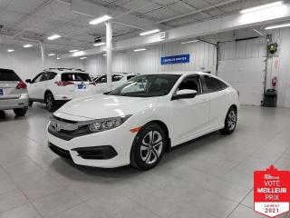 Used 2017 Honda Civic LX - BAS KILOMETRAGE + JAMAIS ACCIDENTE !!! for sale in Saint-Eustache, QC