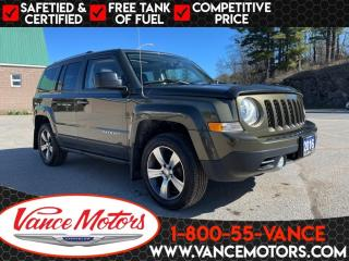 Used 2016 Jeep Patriot High Altitude 4x4...LEATHER*SUNROOF*TOW! for sale in Bancroft, ON