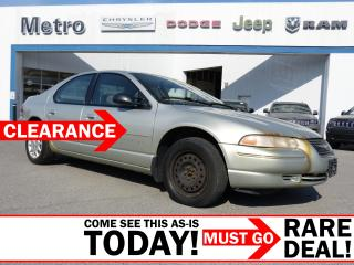 Used 2000 Chrysler Cirrus LX AS-IS for sale in Ottawa, ON