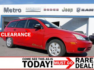 Used 2007 Ford Focus SE AS-IS for sale in Ottawa, ON