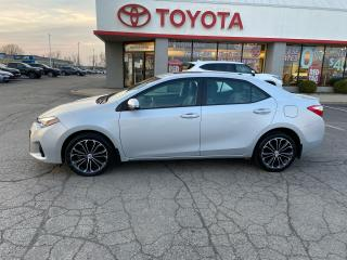Used 2016 Toyota Corolla S LEATHER PKG for sale in Cambridge, ON