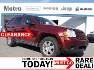 Used 2009 Jeep Grand Cherokee Laredo 4X4 AS-IS for sale in Ottawa, ON