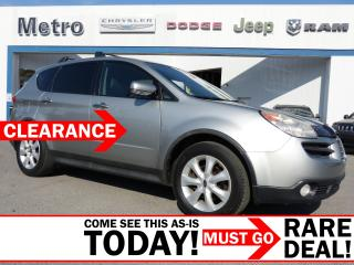 Used 2007 Subaru B9 Tribeca Limited AWD LOADED AS-IS for sale in Ottawa, ON