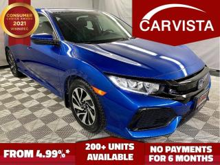 Used 2017 Honda Civic Hatchback LX HATCHBACK 1.5T - LOCAL VEHICLE/FACTORY WARRANTY for sale in Winnipeg, MB