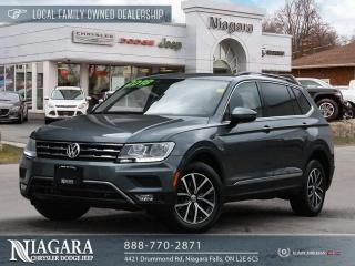 Used 2018 Volkswagen Tiguan COMFORTLINE for sale in Niagara Falls, ON