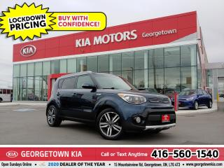 Used 2017 Kia Soul EX PREMIUM | 1 OWNR | CLN CRFX | LTHR | PANO ROOF for sale in Georgetown, ON