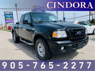 Used 2011 Ford Ranger 4x4 Sport, 5 Speed, A/C, tonneau cover for sale in Caledonia, ON