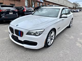 Used 2014 BMW 7 Series 4dr Sdn xDrive AWD, M SPORT PKG, ACTIVE CRUISE CONTROL for sale in North York, ON