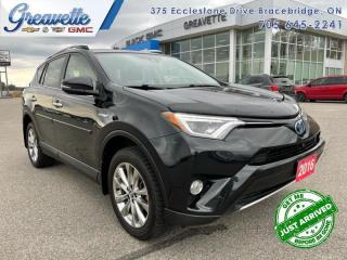 Used 2016 Toyota RAV4 Hybrid Limited  - Navigation for sale in Bracebridge, ON