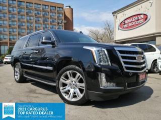 Used 2018 Cadillac Escalade ESV CLEAN CARFAX | PREM PKG | AWD | NAVI | CAM | DVD | for sale in Scarborough, ON