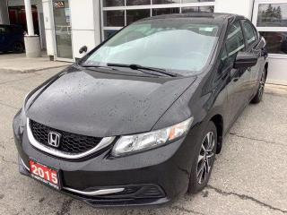 Used 2015 Honda Civic Sedan 4dr Auto EX for sale in North Bay, ON