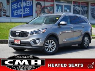 Used 2018 Kia Sorento LX V6  CAM BLIND-SPOT HTD-SEATS 7-PASS 17-AL for sale in St. Catharines, ON