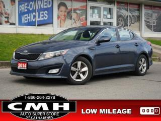 Used 2014 Kia Optima LX  BLUETOOTH P/SEAT HTD-SEATS AUTO 16-AL for sale in St. Catharines, ON