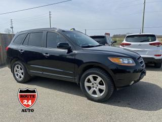Used 2009 Hyundai Santa Fe Limited AWD for sale in Brantford, ON