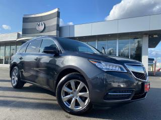 Used 2015 Acura MDX Elite AWD NAVI DVD CAMERA 7-PASSANGER for sale in Langley, BC