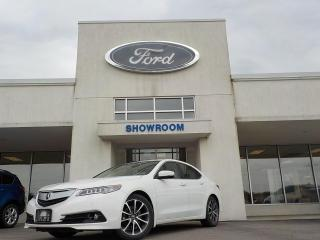 Used 2015 Acura TLX Elite for sale in Mount Brydges, ON