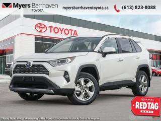 New 2021 Toyota RAV4 Hybrid Limited  - Leather Seats - $295 B/W for sale in Ottawa, ON