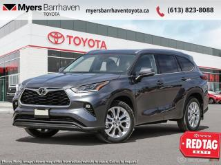 New 2021 Toyota Highlander Limited  - Cooled Seats - $345 B/W for sale in Ottawa, ON